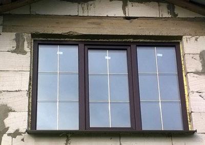 пластиковые окна со шпросами
