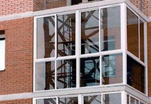 Застеклить Г-образный балкон