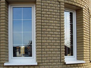 пластиковые окна с белыми шпросами