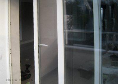 Раздвижные пластиковые двери, пластиковые окна