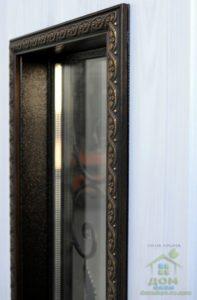 входные металлические двери аурус со стеклом