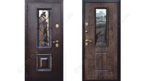 входные металлические двери ковка