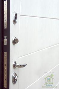 входные металлические двери милан внутр
