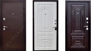 входные металлические двери стандарт