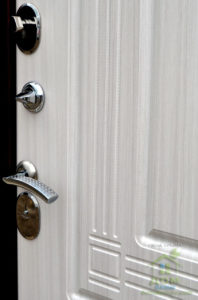 входные металлические двери стандарт беленый дуб