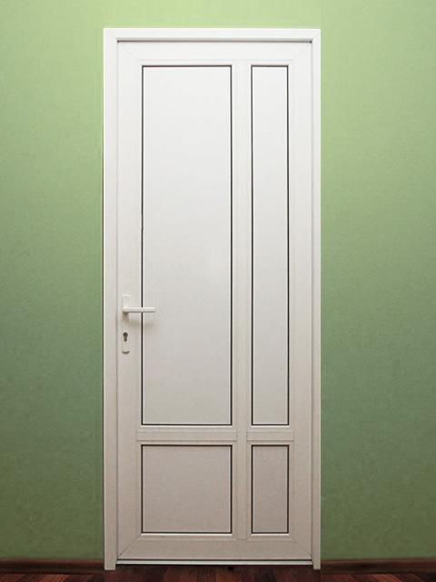 межкомнатная пластиковая дверь 1