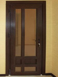 межкомнатная пластиковая дверь 8