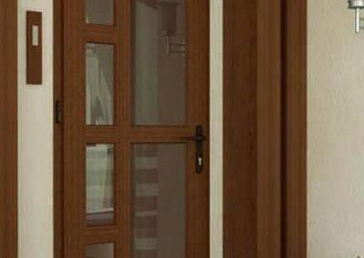 межкомнатная пластиковая дверь 9