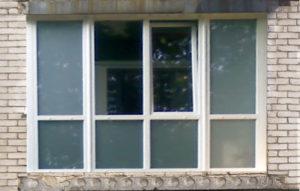 Стандартная прямоугольная лоджия - панорамное остекление