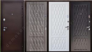 металлическая входная дверь Лидер