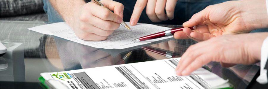 Подписание договора, предоплата за заказ
