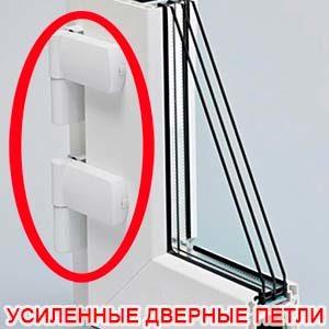 дверные петли для пластиковых дверей